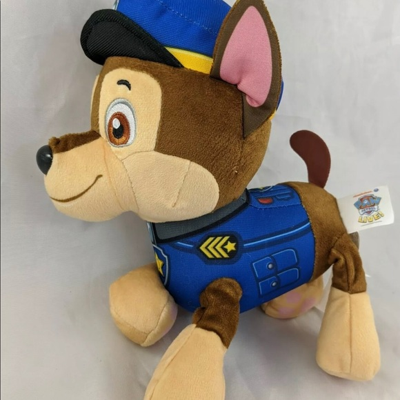 Paw Patrol Toy Plush Dog Spin Master Police